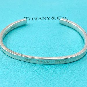 Authentic Tiffany & Co Silver 925 1837 Bangle